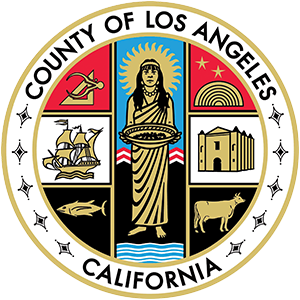 County Seal of Los Angeles. Logo.